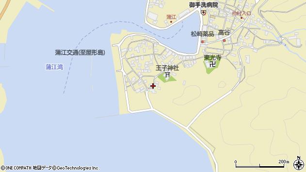 大分県佐伯市蒲江大字蒲江浦2544周辺の地図