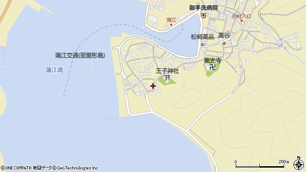 大分県佐伯市蒲江大字蒲江浦2543周辺の地図
