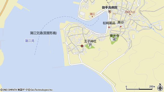 大分県佐伯市蒲江大字蒲江浦2539周辺の地図