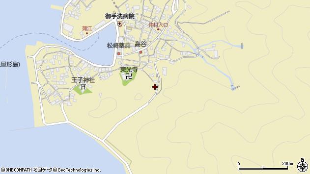 大分県佐伯市蒲江大字蒲江浦190周辺の地図