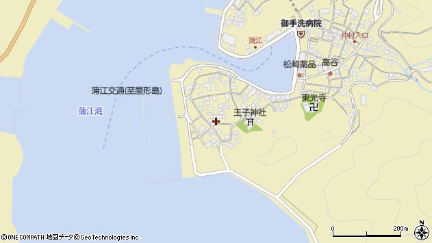 大分県佐伯市蒲江大字蒲江浦2578周辺の地図