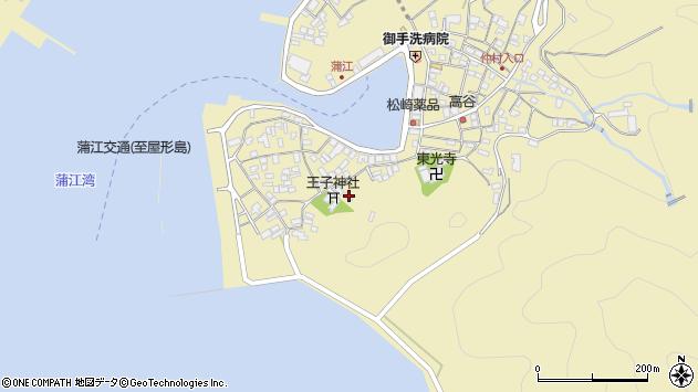 大分県佐伯市蒲江大字蒲江浦2482周辺の地図
