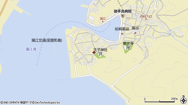 大分県佐伯市蒲江大字蒲江浦2588周辺の地図