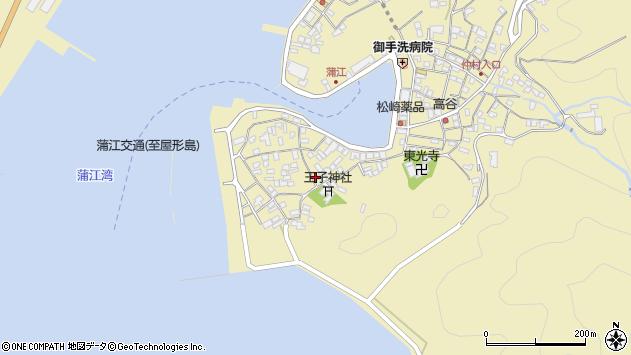 大分県佐伯市蒲江大字蒲江浦2528周辺の地図