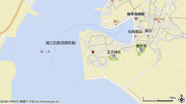 大分県佐伯市蒲江大字蒲江浦2573周辺の地図