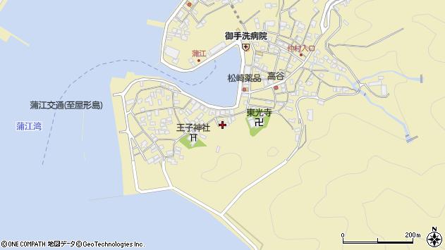 大分県佐伯市蒲江大字蒲江浦2456周辺の地図