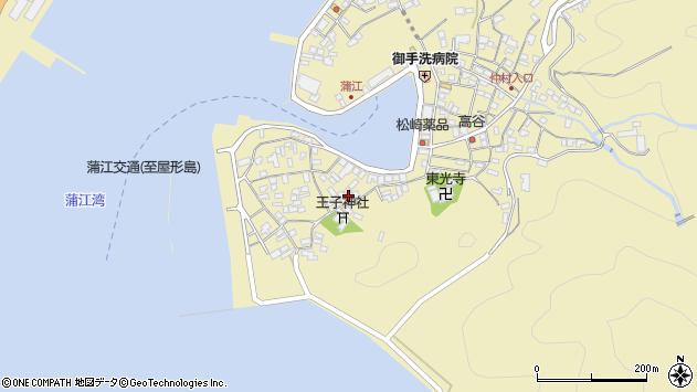 大分県佐伯市蒲江大字蒲江浦2471周辺の地図