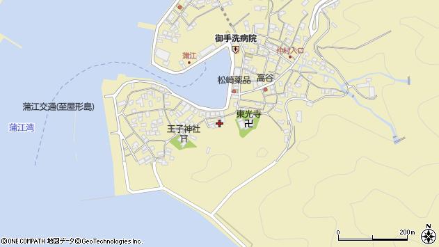 大分県佐伯市蒲江大字蒲江浦2449周辺の地図