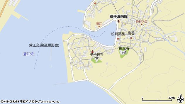大分県佐伯市蒲江大字蒲江浦2524周辺の地図