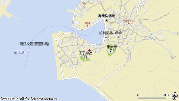 大分県佐伯市蒲江大字蒲江浦2472周辺の地図