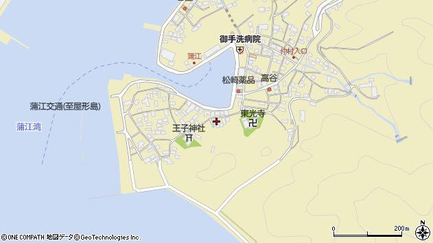 大分県佐伯市蒲江大字蒲江浦2450周辺の地図