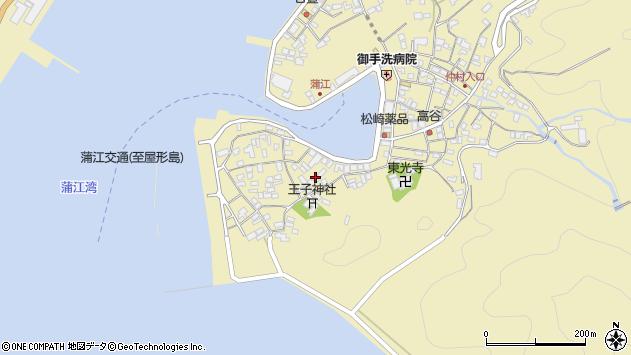 大分県佐伯市蒲江大字蒲江浦2470周辺の地図