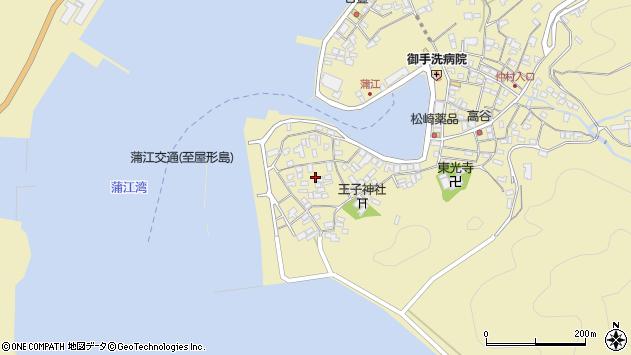 大分県佐伯市蒲江大字蒲江浦2565周辺の地図