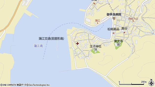 大分県佐伯市蒲江大字蒲江浦2577周辺の地図