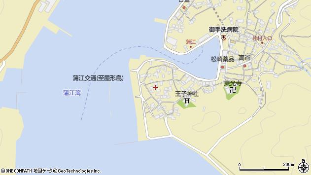 大分県佐伯市蒲江大字蒲江浦2582周辺の地図
