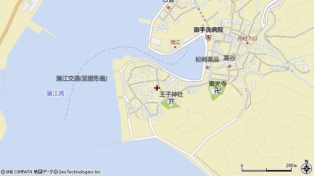 大分県佐伯市蒲江大字蒲江浦2602周辺の地図