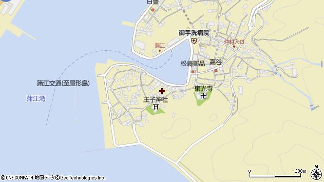 大分県佐伯市蒲江大字蒲江浦2469周辺の地図