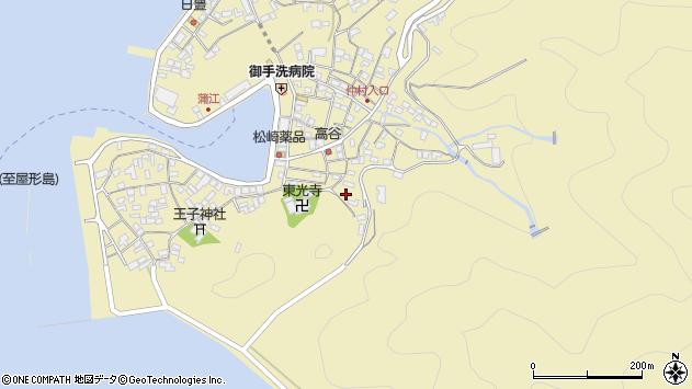 大分県佐伯市蒲江大字蒲江浦2433周辺の地図