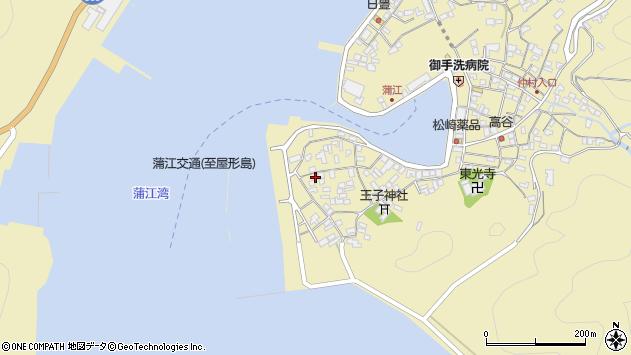 大分県佐伯市蒲江大字蒲江浦2580周辺の地図