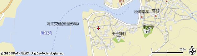 大分県佐伯市蒲江大字蒲江浦2581周辺の地図