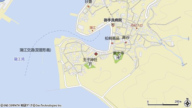 大分県佐伯市蒲江大字蒲江浦2464周辺の地図