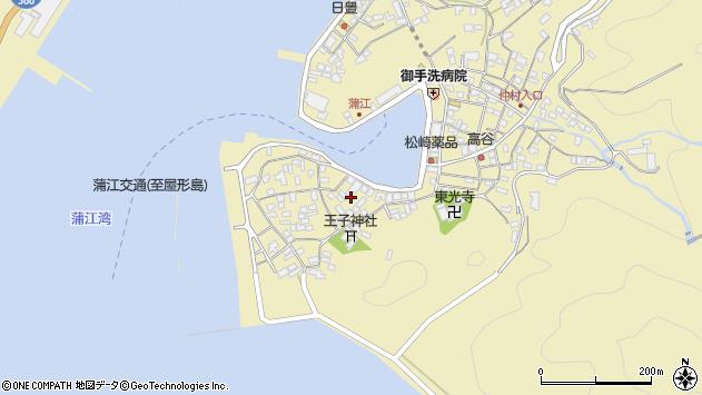 大分県佐伯市蒲江大字蒲江浦2492周辺の地図