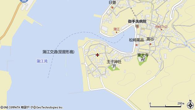 大分県佐伯市蒲江大字蒲江浦2584周辺の地図