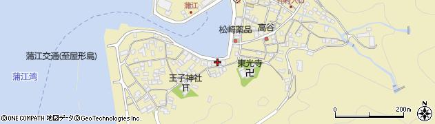 大分県佐伯市蒲江大字蒲江浦2447周辺の地図