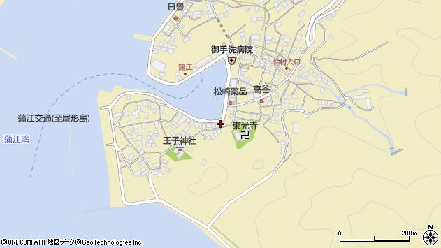 大分県佐伯市蒲江大字蒲江浦2446周辺の地図