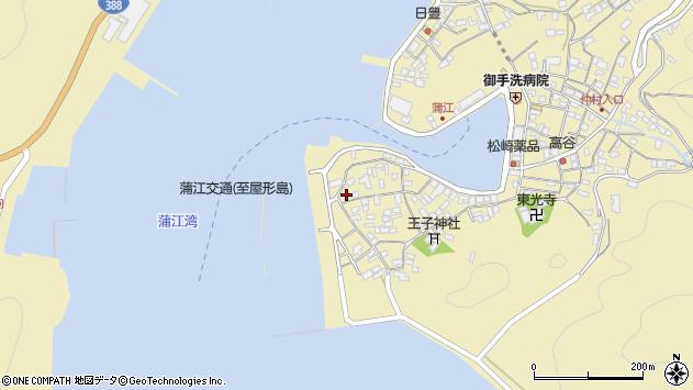 大分県佐伯市蒲江大字蒲江浦2646周辺の地図