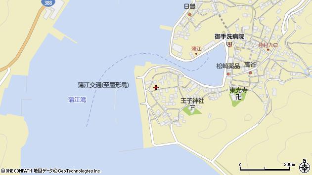大分県佐伯市蒲江大字蒲江浦2645周辺の地図
