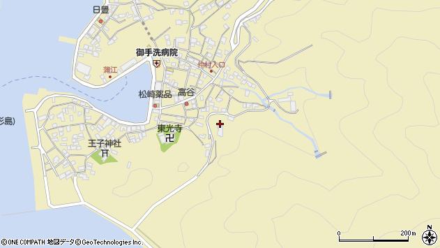 大分県佐伯市蒲江大字蒲江浦山後周辺の地図