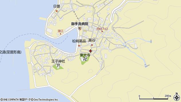 大分県佐伯市蒲江大字蒲江浦2418周辺の地図