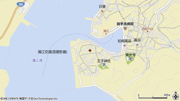 大分県佐伯市蒲江大字蒲江浦2621周辺の地図