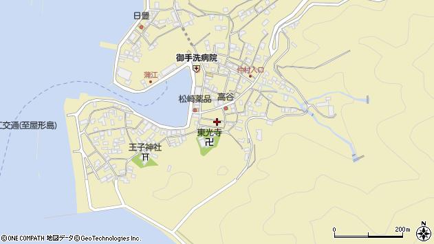 大分県佐伯市蒲江大字蒲江浦2421周辺の地図