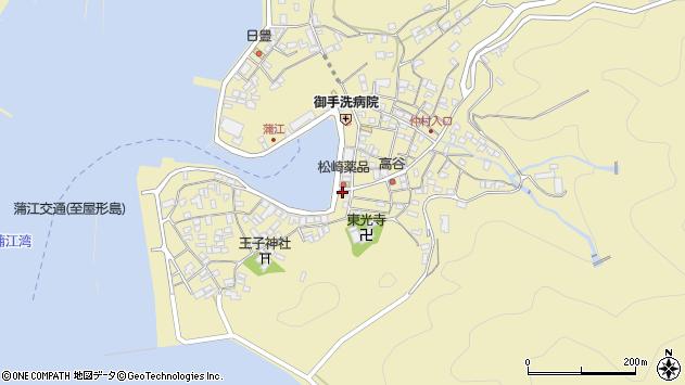 大分県佐伯市蒲江大字蒲江浦2395周辺の地図