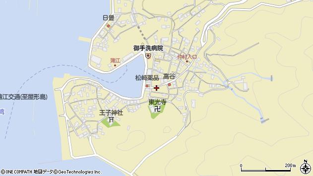 大分県佐伯市蒲江大字蒲江浦2394周辺の地図