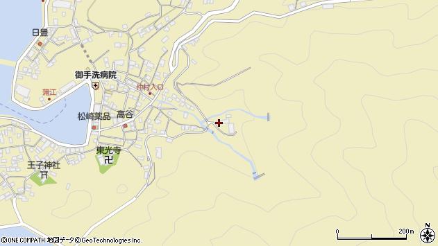 大分県佐伯市蒲江大字蒲江浦764周辺の地図