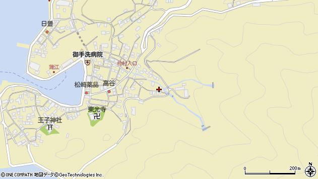 大分県佐伯市蒲江大字蒲江浦2286周辺の地図
