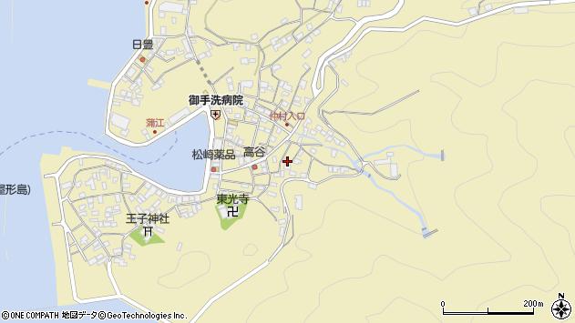 大分県佐伯市蒲江大字蒲江浦2363周辺の地図