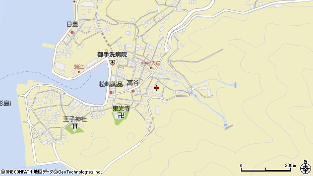 大分県佐伯市蒲江大字蒲江浦2347周辺の地図