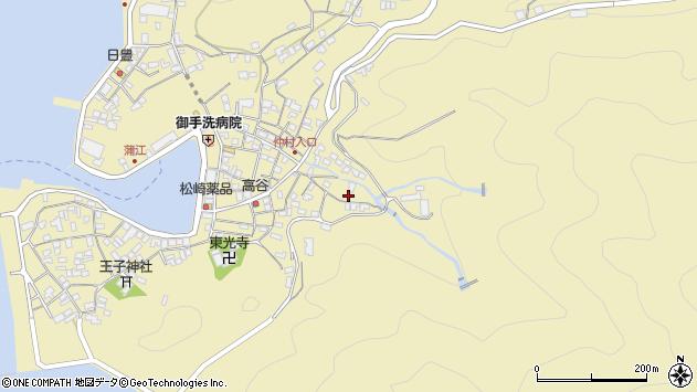 大分県佐伯市蒲江大字蒲江浦2299周辺の地図