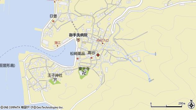 大分県佐伯市蒲江大字蒲江浦2381周辺の地図