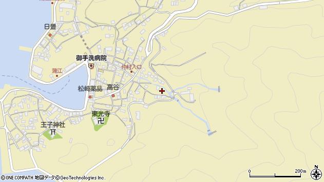 大分県佐伯市蒲江大字蒲江浦2294周辺の地図