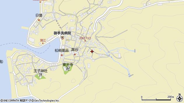 大分県佐伯市蒲江大字蒲江浦2330周辺の地図