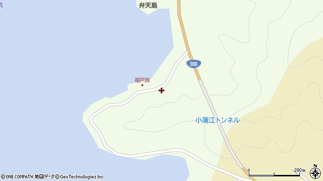 大分県佐伯市蒲江大字猪串浦135周辺の地図