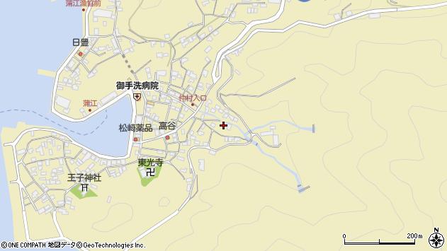 大分県佐伯市蒲江大字蒲江浦2322周辺の地図