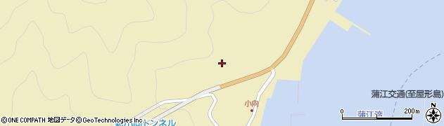 大分県佐伯市蒲江大字蒲江浦小向周辺の地図