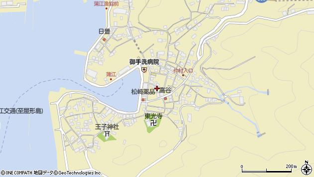 大分県佐伯市蒲江大字蒲江浦2210周辺の地図
