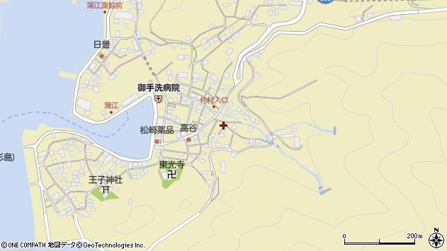 大分県佐伯市蒲江大字蒲江浦2370周辺の地図